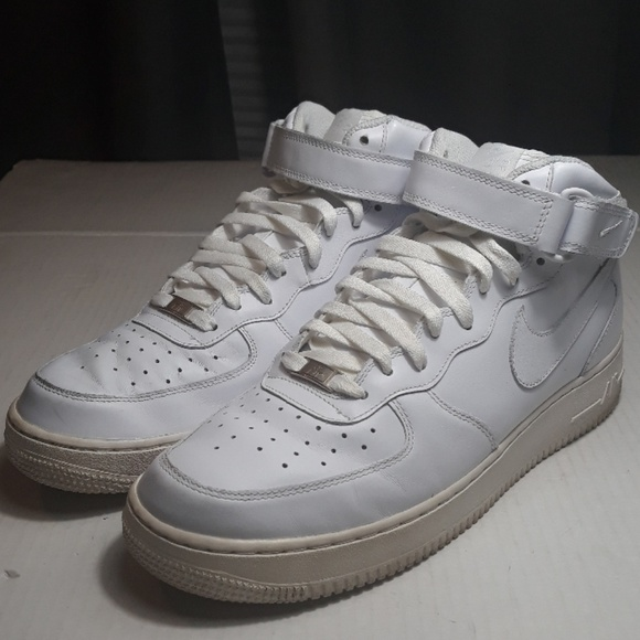 newest ea68a 95102 Nike Air Force 1 Mid 07 white 315123-111 size 11.5
